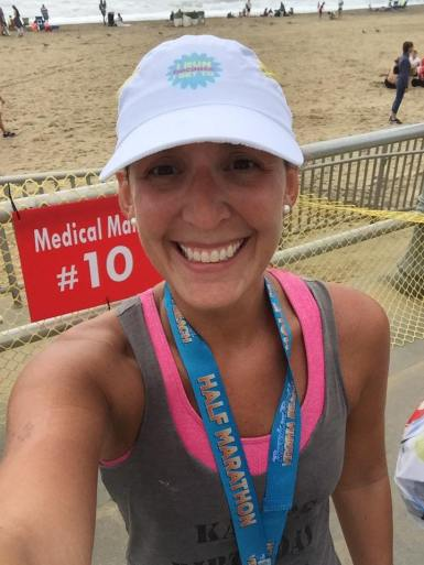 2nd 1/2 marathon - VA Beach
