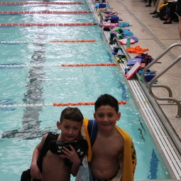 Happy brothers after a successful meet!